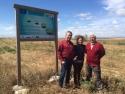 Socios del proyecto LIFE Cultivos Tradicionales visitan las parcelas de San Mateo de Gállego