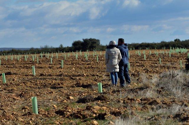 Visita del equipo de uva en ay o de vidriales operaci n co2 for Viveros fuenteamarga