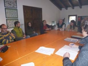Análisis preliminar del terreno en La Montaña de Alinyà, Catalunya
