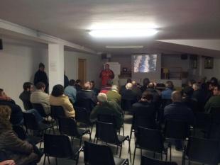 Excelente acogida del proyecto por los habitantes de Ayoó, Santibañes y Fuente Encalada