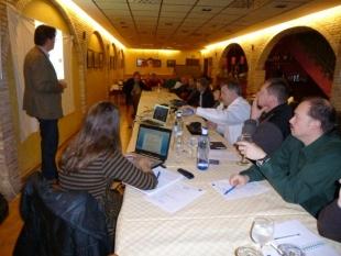 Tercera reunión oficial en San Mateo de Gállego