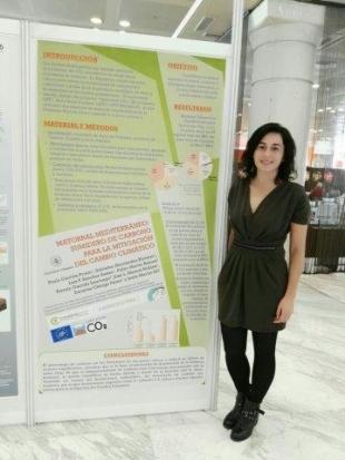 Nuestros compañeros de la UVa presentan estudios sobre el Proyecto en la 13 edición de CONAMA en Madrid