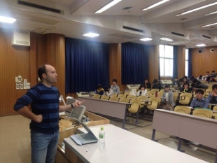Seminario en la prestigiosa Universidad de Kyoto