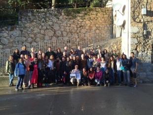 Estudiantes internacionales del MSc en Sostenibilidad visitan el área de Alinyà