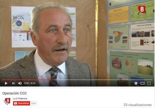 El canal de Televisión, La 8 de Palencia, entrevista al coordinador del proyecto