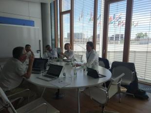Transfer & Beral visitan el BEI como parte del plan de comunicación después de que culmine el proyecto